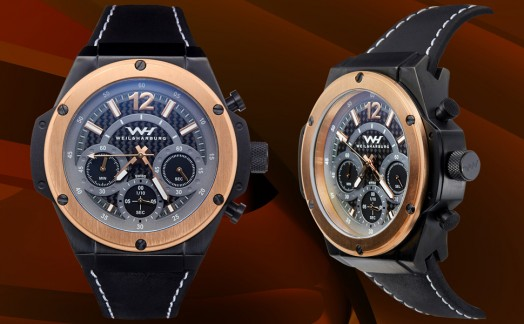 Black/Rose Gold Ion Plating